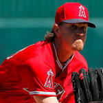 Angels' Jered Weaver is not up to speed in spring-training outing