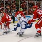 Detroit 2, Tampa Bay 0: Wings shutout Lightning for 1st win in series