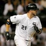 Flowers Hits Tying, Winning Homers for White Sox