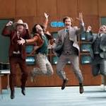 Watch the Anchorman 2 Cast Brawl With Jon Stewart