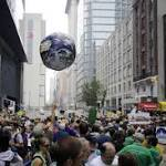 Faith groups join in worldwide climate marches