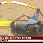 Pilot dies in California helicopter crash