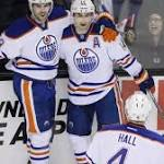 Oilers outlast Sharks in 13-round SO