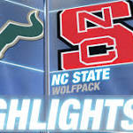 USF loses first of season, falls to NC State