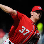Frustrations spill over for Strasburg in Nats' fourth straight loss