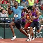 Gatlin Wins 200 With Fastest Time Ever At US Championships