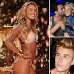 How horndog celebs model-shop at the Victoria's Secret show