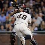 Diamondbacks use big inning to down Giants