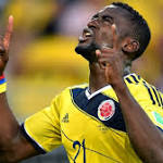 Cruising Colombia triumph, send Japan home