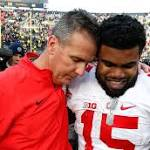 A week after getting huffy, Ohio State's Ezekiel Elliott blows through Michigan