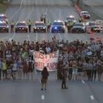 Minnesota police pelted with rocks, rebar; 102 arrested after protests turn violent