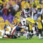 Jeremy Hill rushes for 184 yards, 3 TDs as LSU downs Auburn
