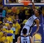 Grizzlies' Tony Allen showing why he's called Grindfather
