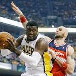George's 39 Gives Pacers 95-92 Win Over Wizards