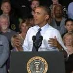 Obama Focuses on Auto Industry Recovery in Kansas City