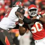 Critical red-zone turnover dooms Chiefs in 19-17 loss to Tampa Bay