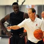 Mike Hopkins on filling in for Jim Boeheim: 'We're going to stick to the script'