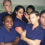 Ellen Pompeo and Grey's Anatomy cast pose as Orange Is The New Black ...