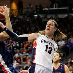 No. 1 Gonzaga beats St. Mary's, 65-51, in West Coast Conference final