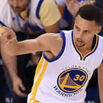 Stephen Curry shoves Patrick Beverley after they get tangled up (VIDEO)