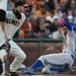 Giants left feeling blue after Dodgers complete sweep