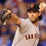 Giant relief: Bumgarner, Giants hold off Royals, 3-2, for third World Series title in ...