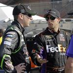 Denny Hamlin has compression fracture in back