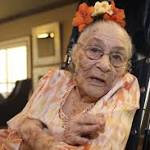 Gertrude Weaver dies just five days after becoming the world's oldest person