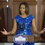 Michelle Obama's school lunch agenda faces backlash from some school ...