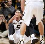 Foul trouble puts Missouri's key rebounders on bench