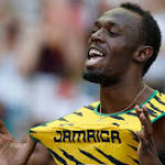 Even with methodical race, Bolt easily advances in 100 at worlds; Farah takes ...