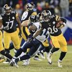 Spartans in NFL: Le'Veon Bell lifts Steelers to Monday night win with 204 yards ...