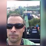 Man tweets selfie while stuck on roller coaster at Six Flags