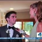 Nina Agdal subs for Kate Upton at California teen's prom