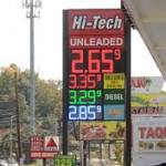 Gas prices plunging toward $2.50 in Waco