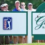 Hurley sails into lead at Greenbrier
