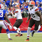 Hoyer caps whirlwind week by facing Luck, Colts