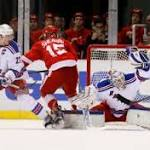 Rangers take the positives out of OT loss to Red Wings