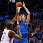 Mavericks take advantage of depleted Thunder with blowout