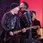 U2 does Aids show without Bono