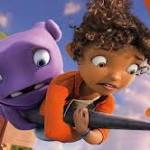 'Home' is mildly amusing, and highly commercial