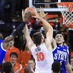 Virginia routs Tennessee State, 79-36