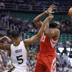 Hayward scores 28 as Jazz defeat Rockets 117-114 in overtime