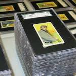 Family to auction off collector baseball cards worth five figures each