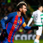 Watch: Neymar feeds Messi for Champions League goal at Celtic