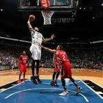 Timberwolves blast Pelicans in Mitchell's final game (Apr 13, 2016)