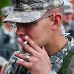 Smoking ban at Landstuhl is the latest move for the Army's anti-tobacco push