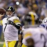 Steelers roll as Antonio Brown catches three TDs