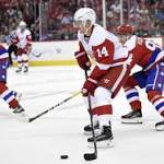 Red Wings try to stay positive following rough 10-game stretch
