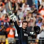 New Zealand puts up large total vs West Indies at World Cup